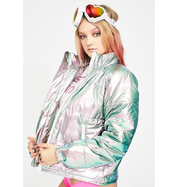 Club Exx Sweet Space Bae Escapade Puffer Jacket