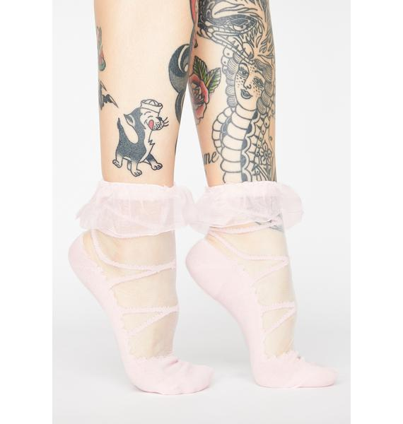 Your Babydoll Sheer Ankle Socks