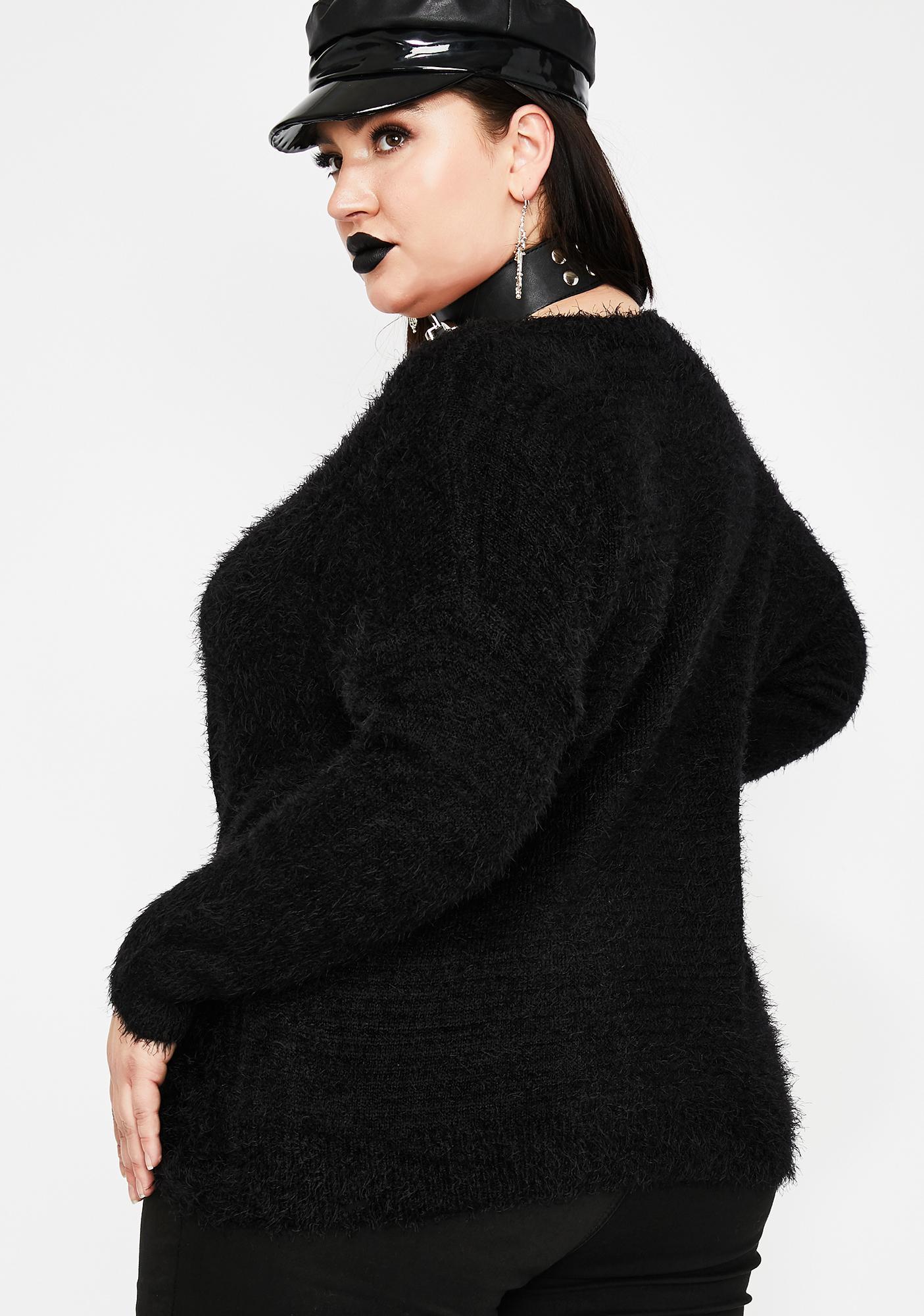 Cozy Tendencies Wrap Front Sweater