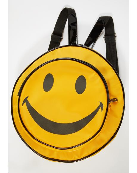 Happy To Be Here Circle Backpack