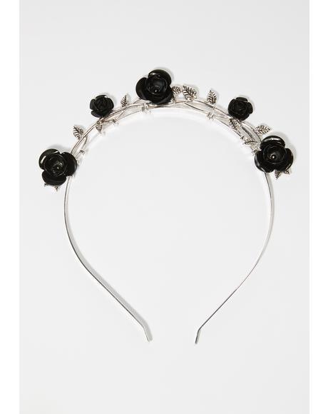 Haunting History Rosette Headband