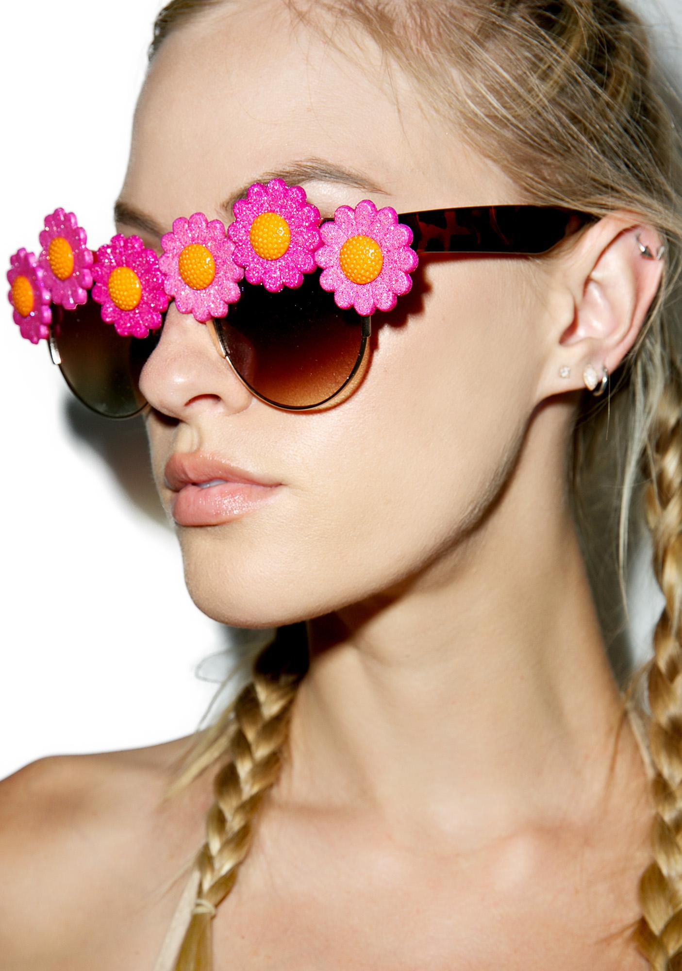 Gasoline Glamour Sunflower Coco Sunglasses