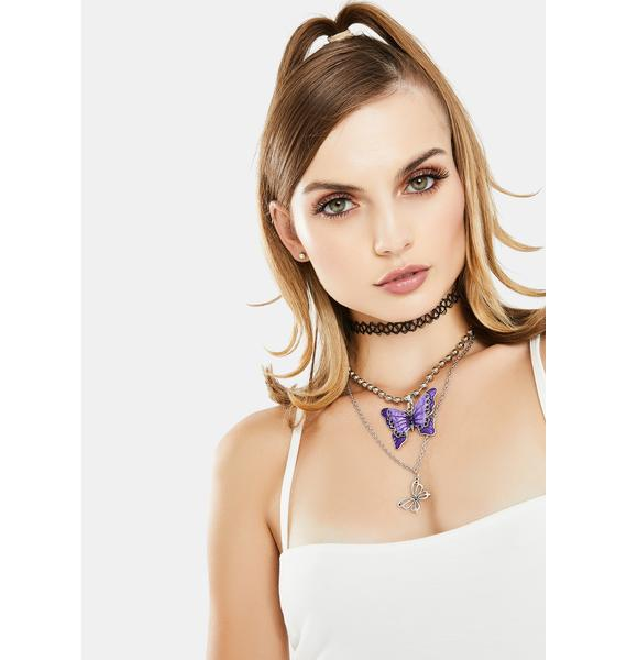 Butterfly Couture Necklace