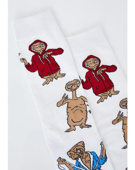 Alien In Disguise Crew Socks