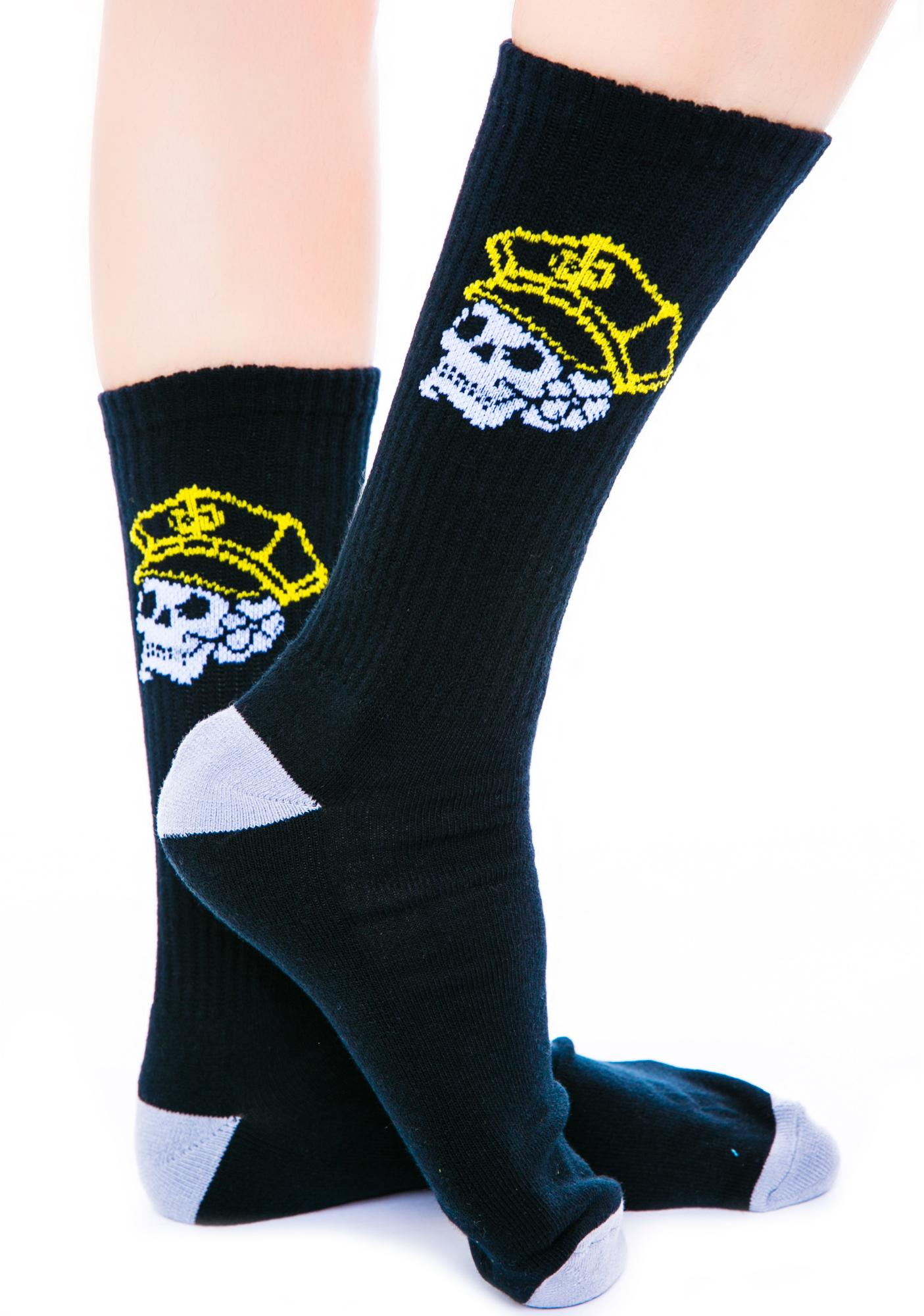 Rebel8 Civil Servant Socks