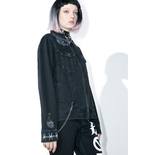Disturbia Riffs Denim Jacket
