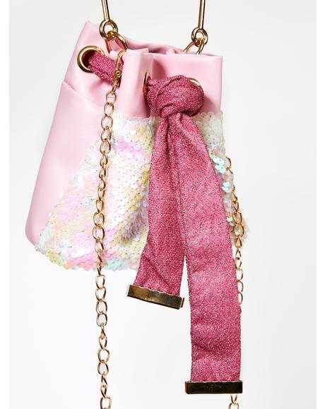 Soft Vibes Sequin Handbag