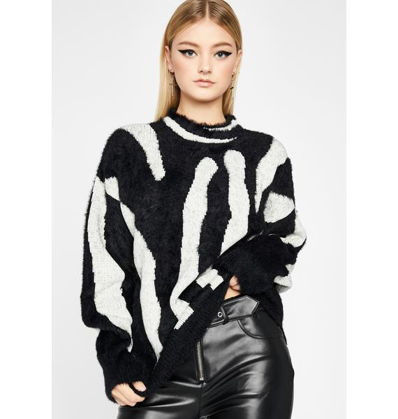 Think About It Oversized Sweater