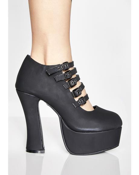 Strappy Spice Platform Heels
