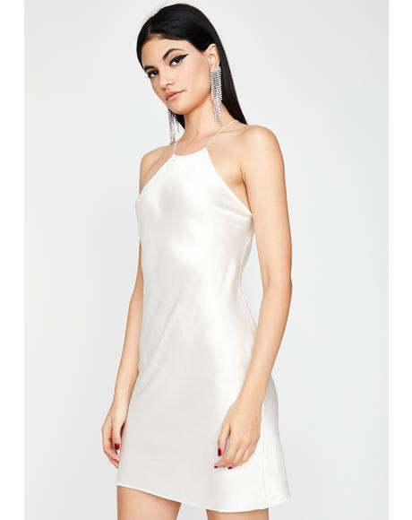 Pearl Life Of The Party Mini Dress