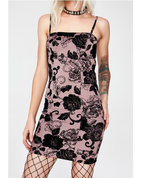 Regal Rebellion Mini Dress