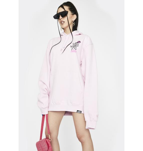 BROKEN PROMISES CO Pink Lovingly Hoodie