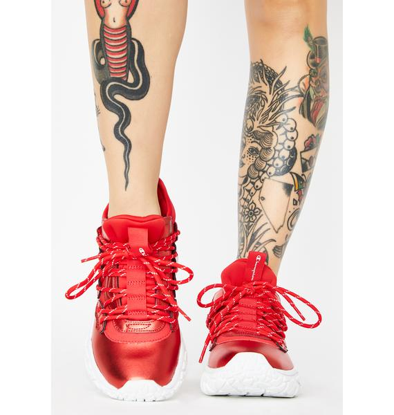 Champion Red Tank Classic Sneakers