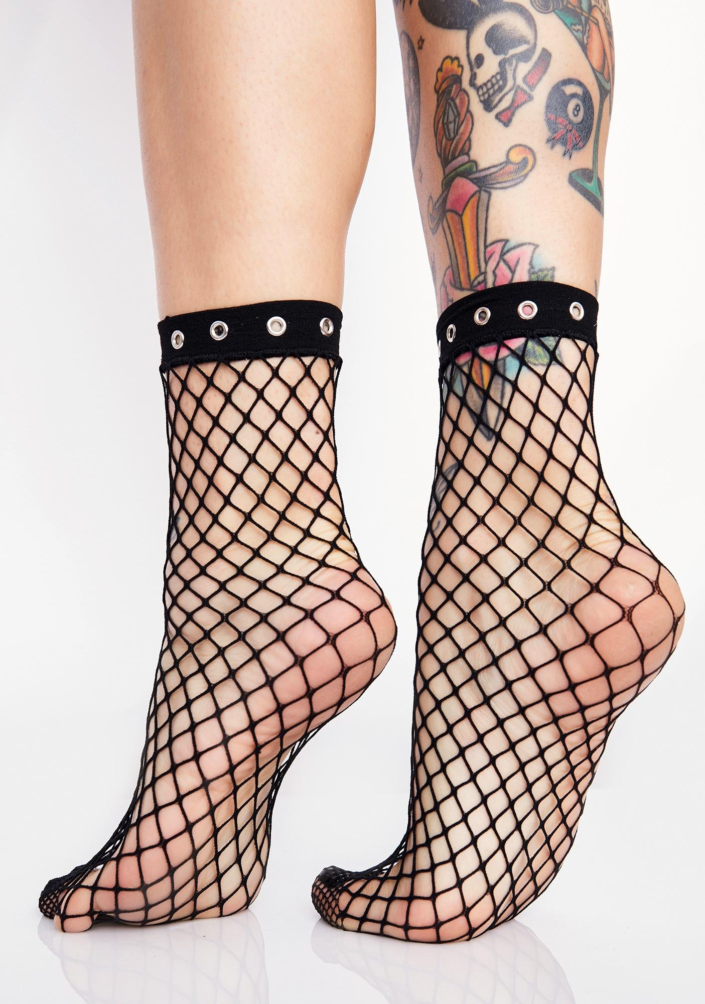 Killstar Alicia Fishnet Socks