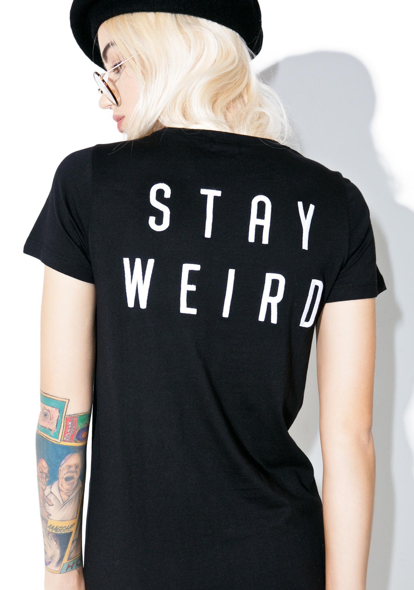 Lira Clothing Stay Weird Tunic Top
