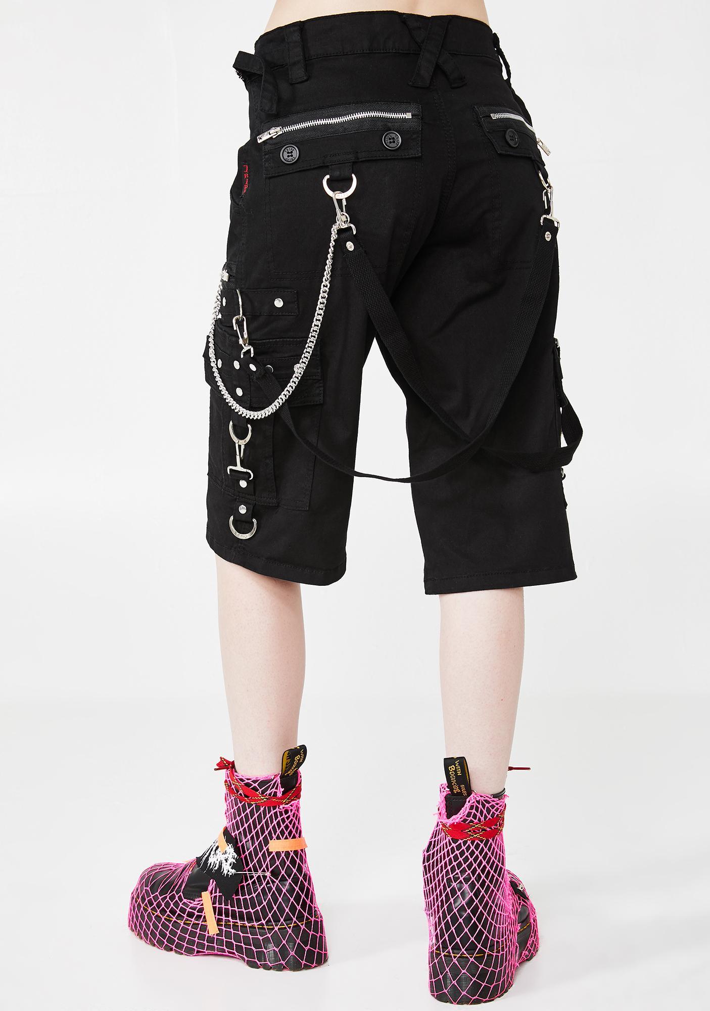 Tripp NYC Punk Rock Shorts