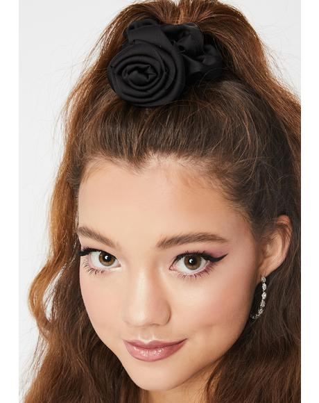 Beauty Queen Rose Scrunchie