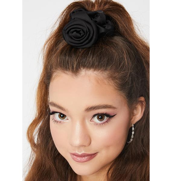 Beauty Queen Rose Scrunchie