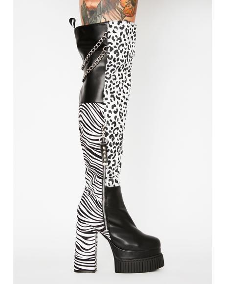 Wild Love Thigh High Boots