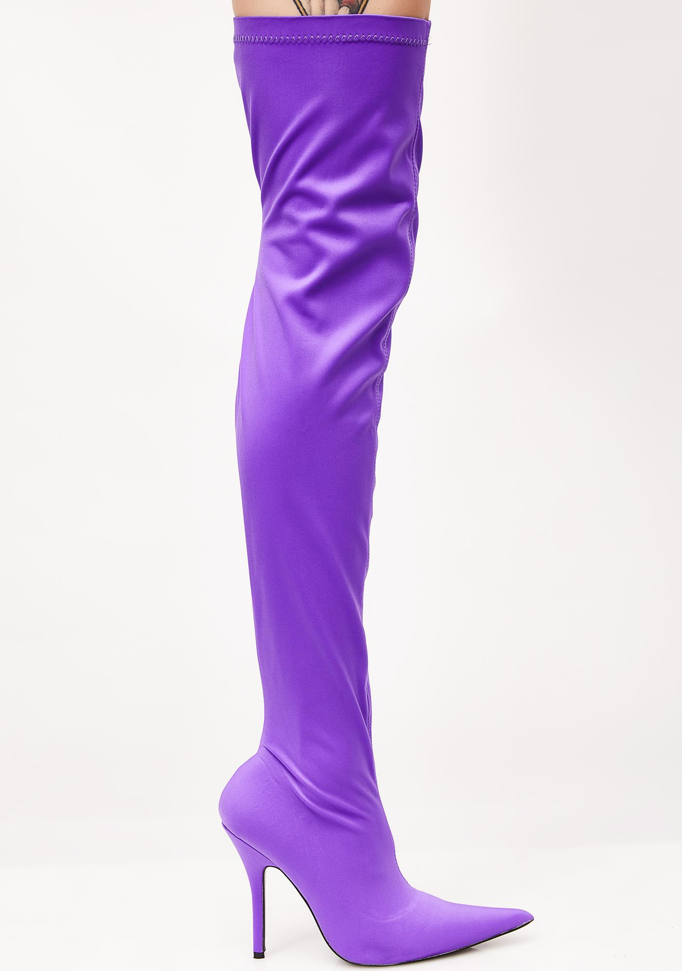 7061ac6a510 ... Public Desire Refuge Over The Knee Boots ...