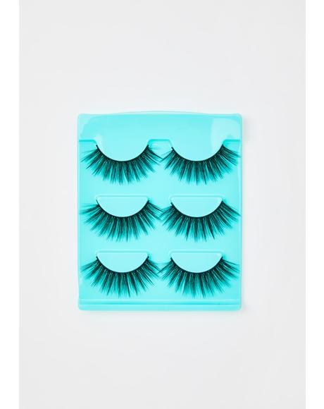 Wavy False Eyelashes