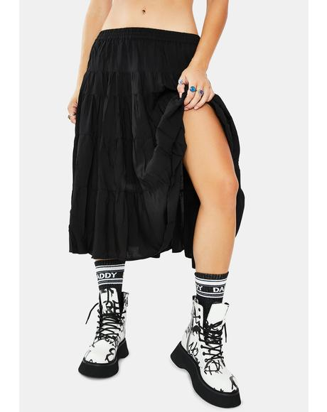 Girl On The Run Maxi Skirt