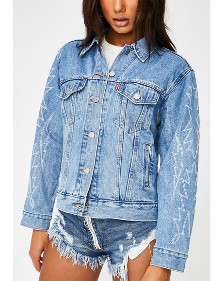 Del Norte Ex Boyfriend Trucker Jacket