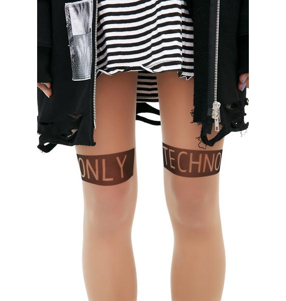 Current Mood Only Techno Tights