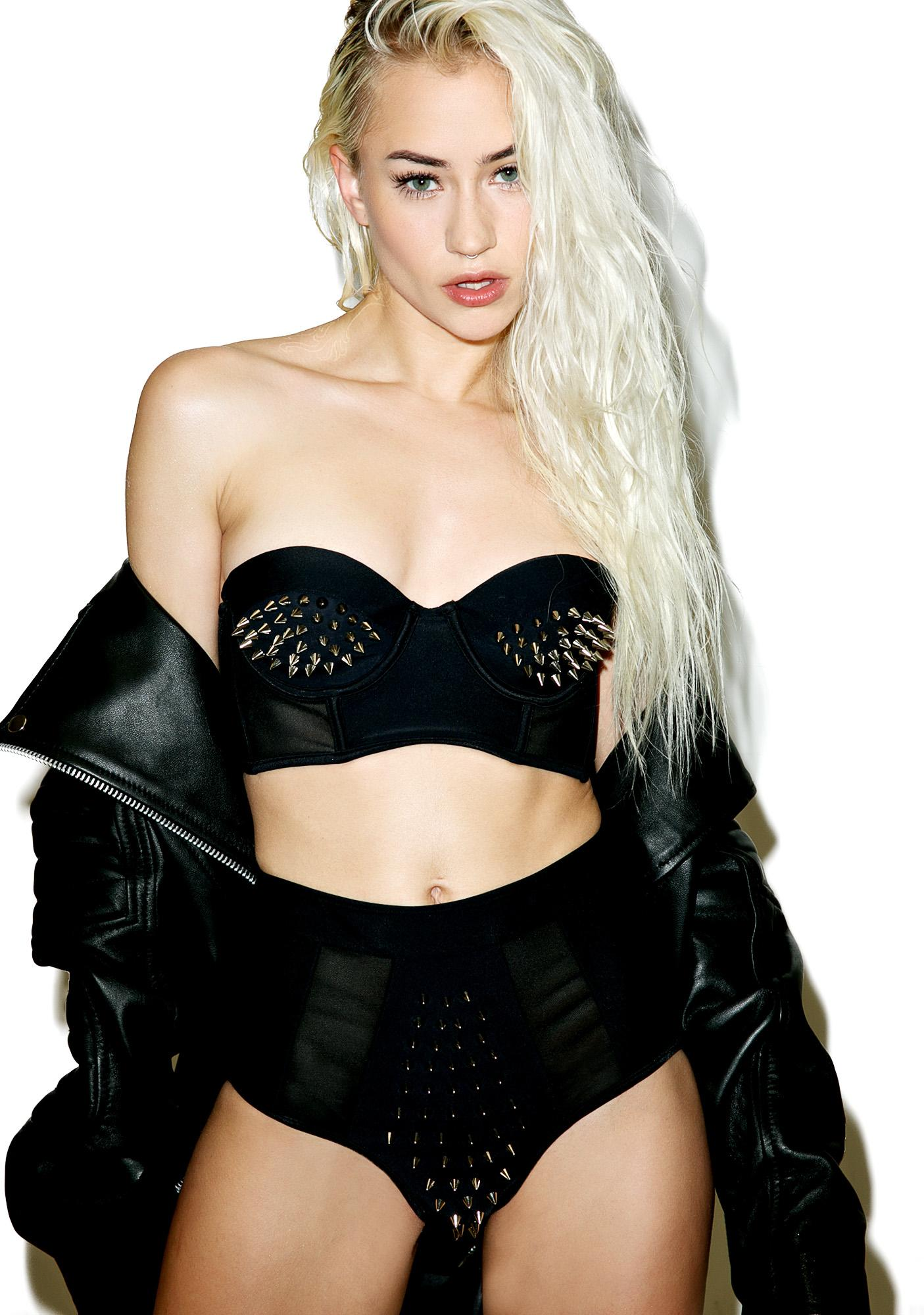 Current Mood Lethal Bikini Top