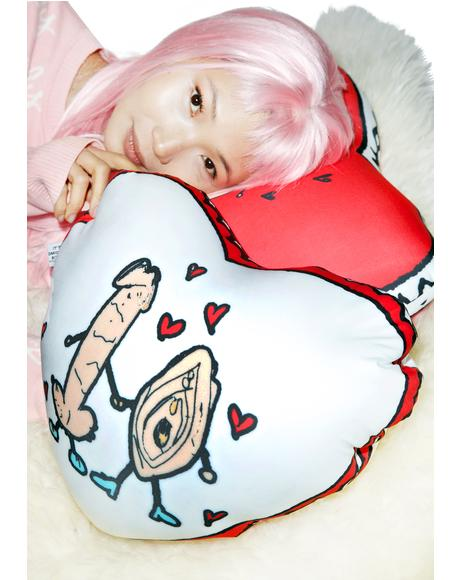 BGR Love Pillow