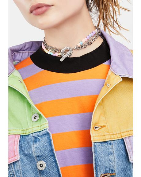 Lonely Hearts Chain Choker