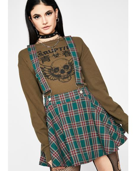 Class Act Suspender Skirt