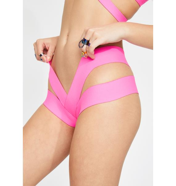 Club Exx Candy Triple X-Rated Booty Shorts