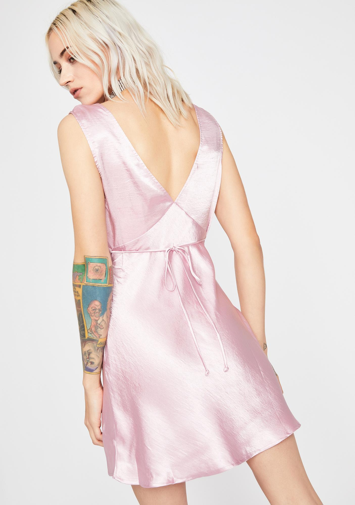 Feelin' Dreamy Satin Dress