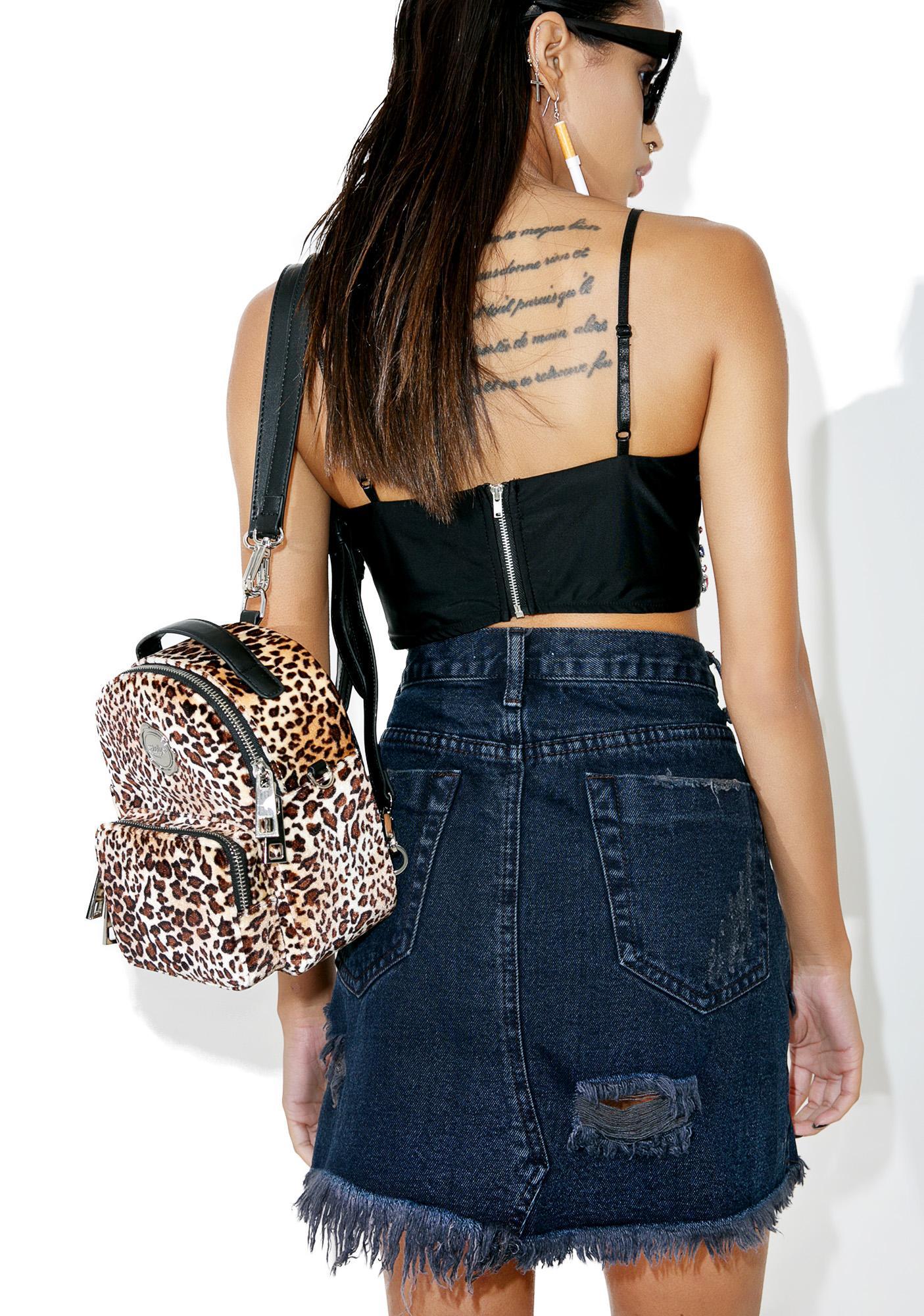 Glamorous Oceana Denim Skirt