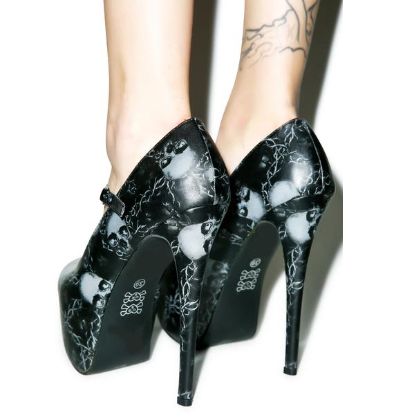 Iron Fist Urban Decay Super Platform Heels