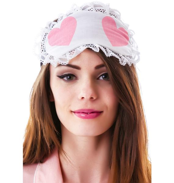 Wildfox Couture Cheeky Hearts Eye Mask
