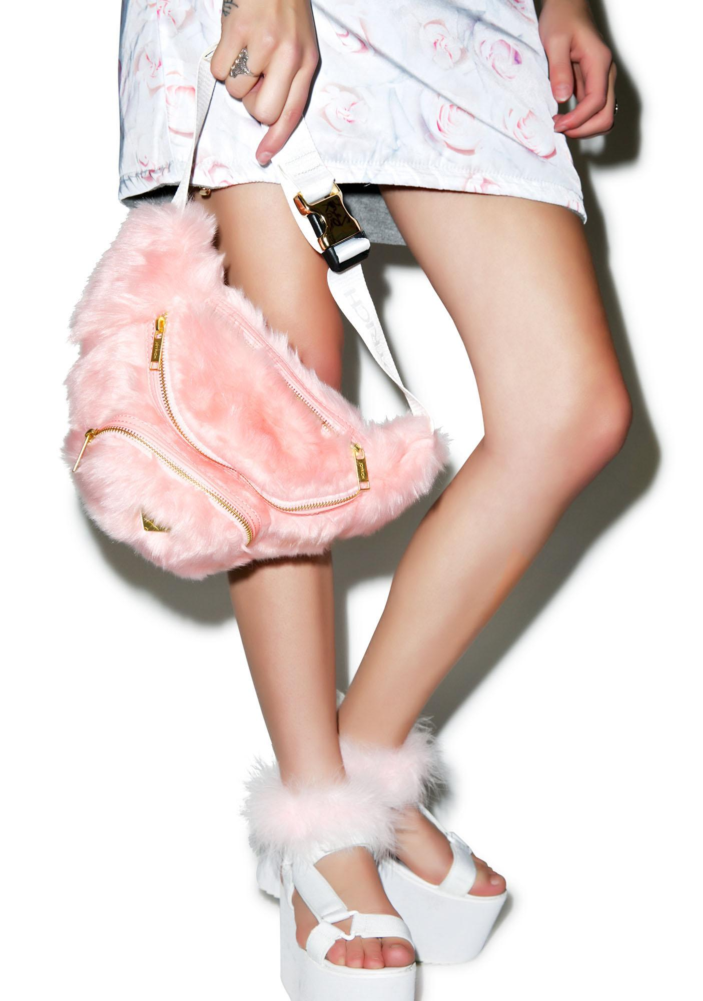 Joyrich Candy Fur Waist Pack