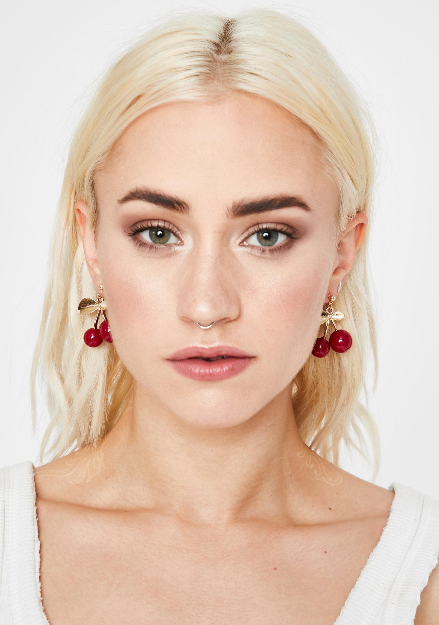 She's My Cherry Pie Earrings