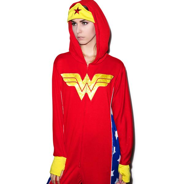 Undergirl Wonder Woman Onesie