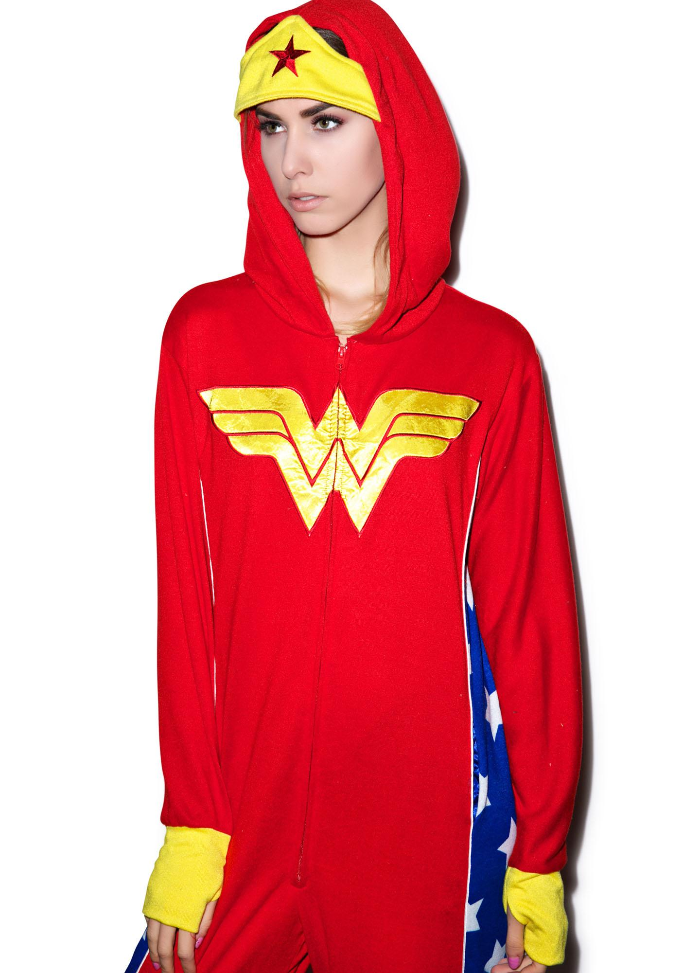 Undergirl Wonder Woman Onesie