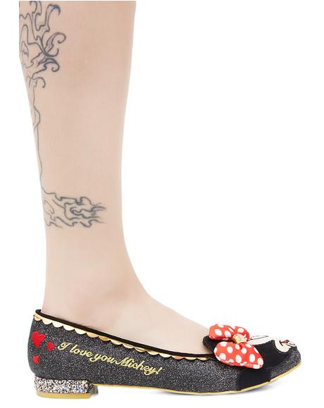 Why Hello! Mickey & Minnie Flats