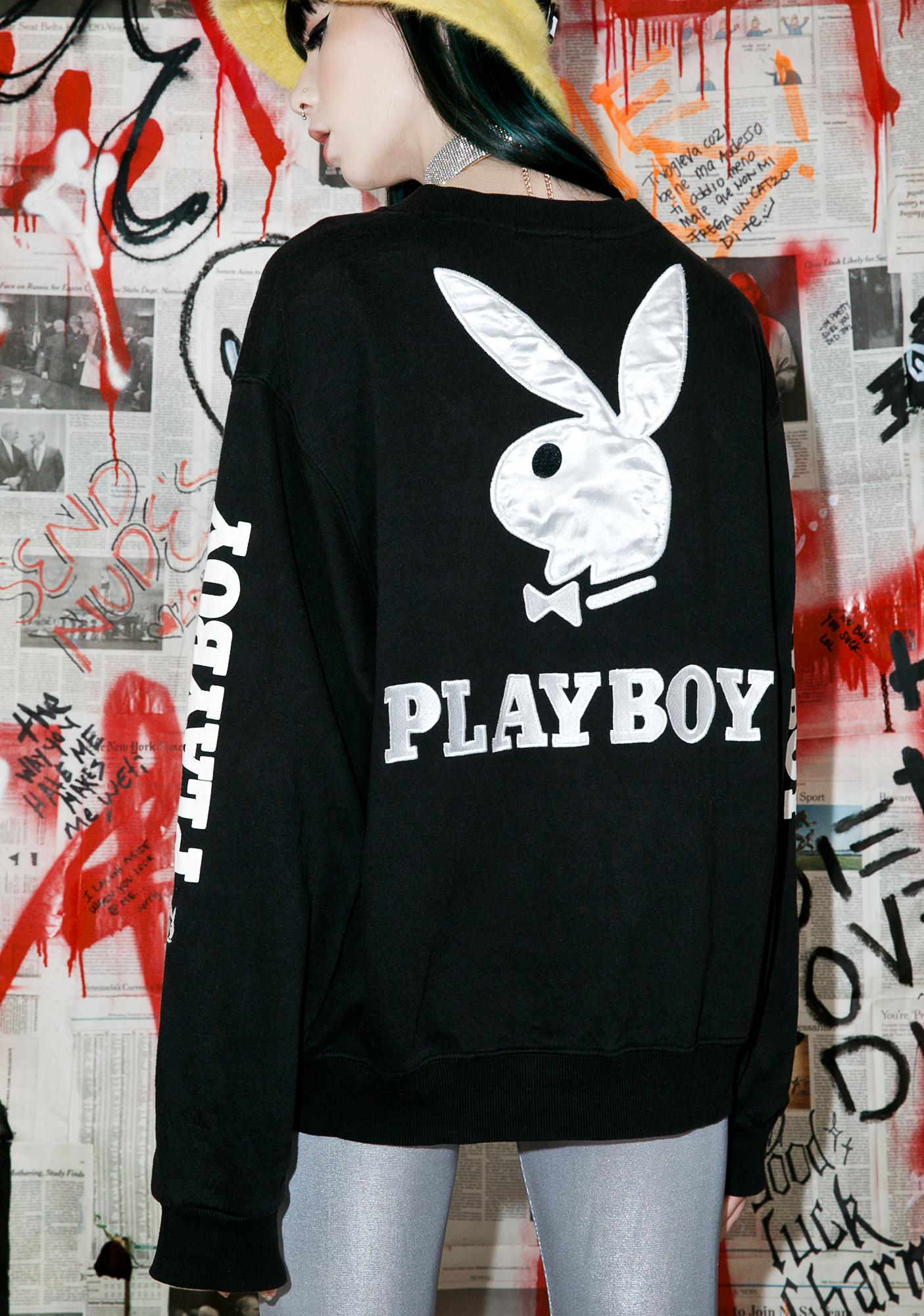 Vintage 90s Playboy Logo Sweatshirt