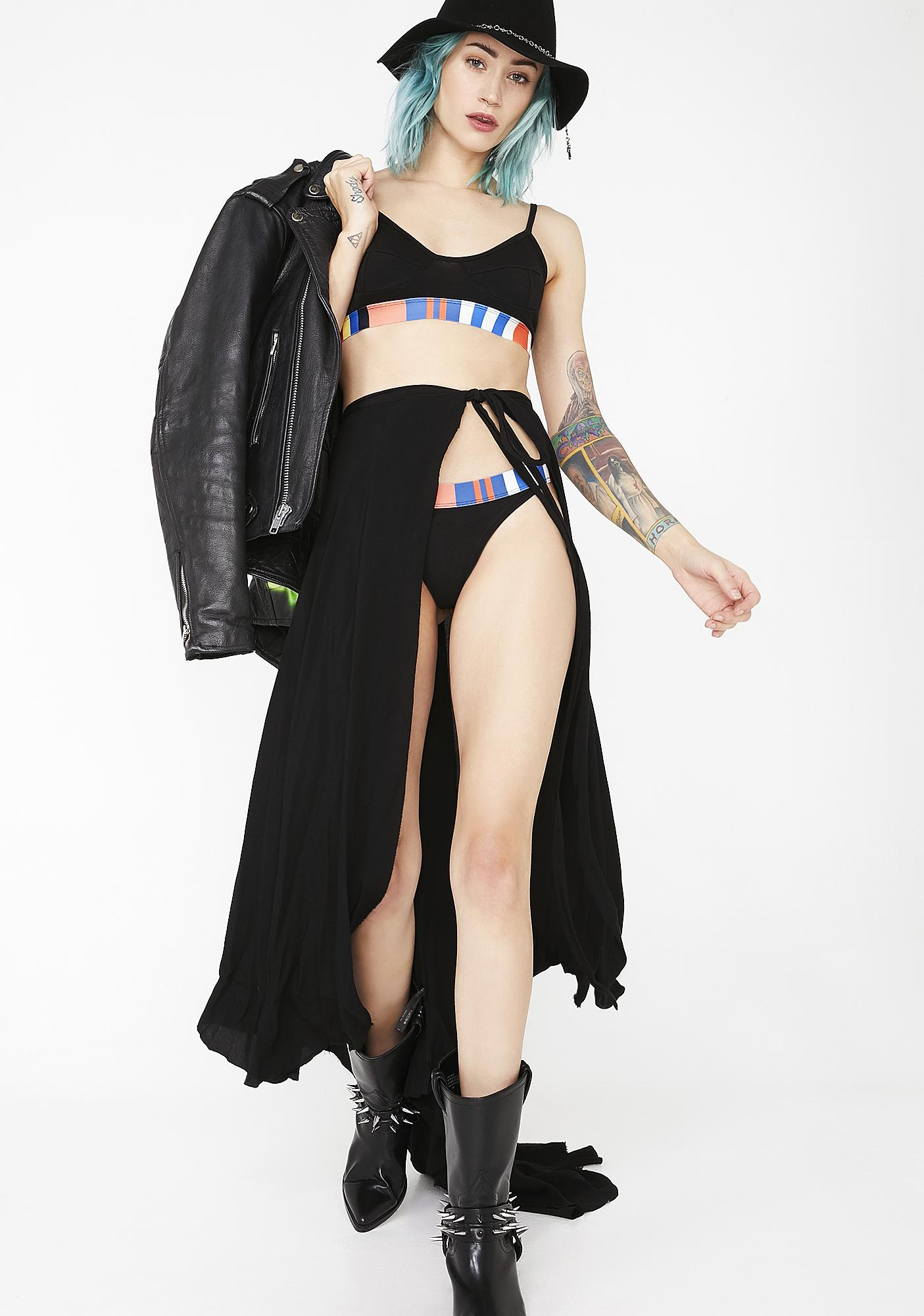 Related Garments The Flying Cross Bralette