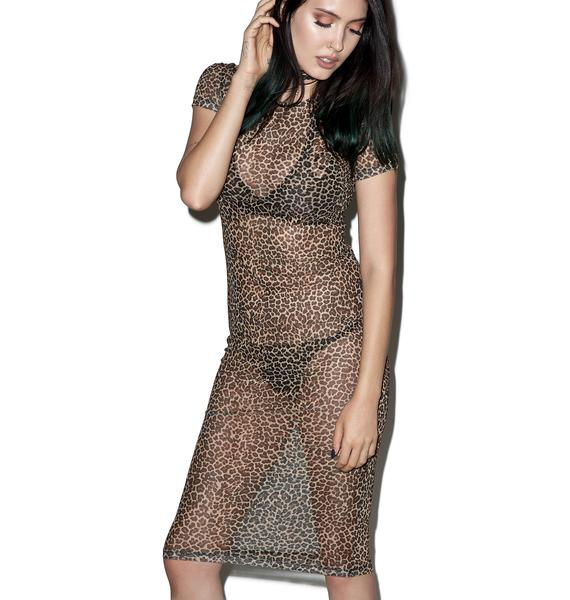 Motel Leopard Minsk Dress