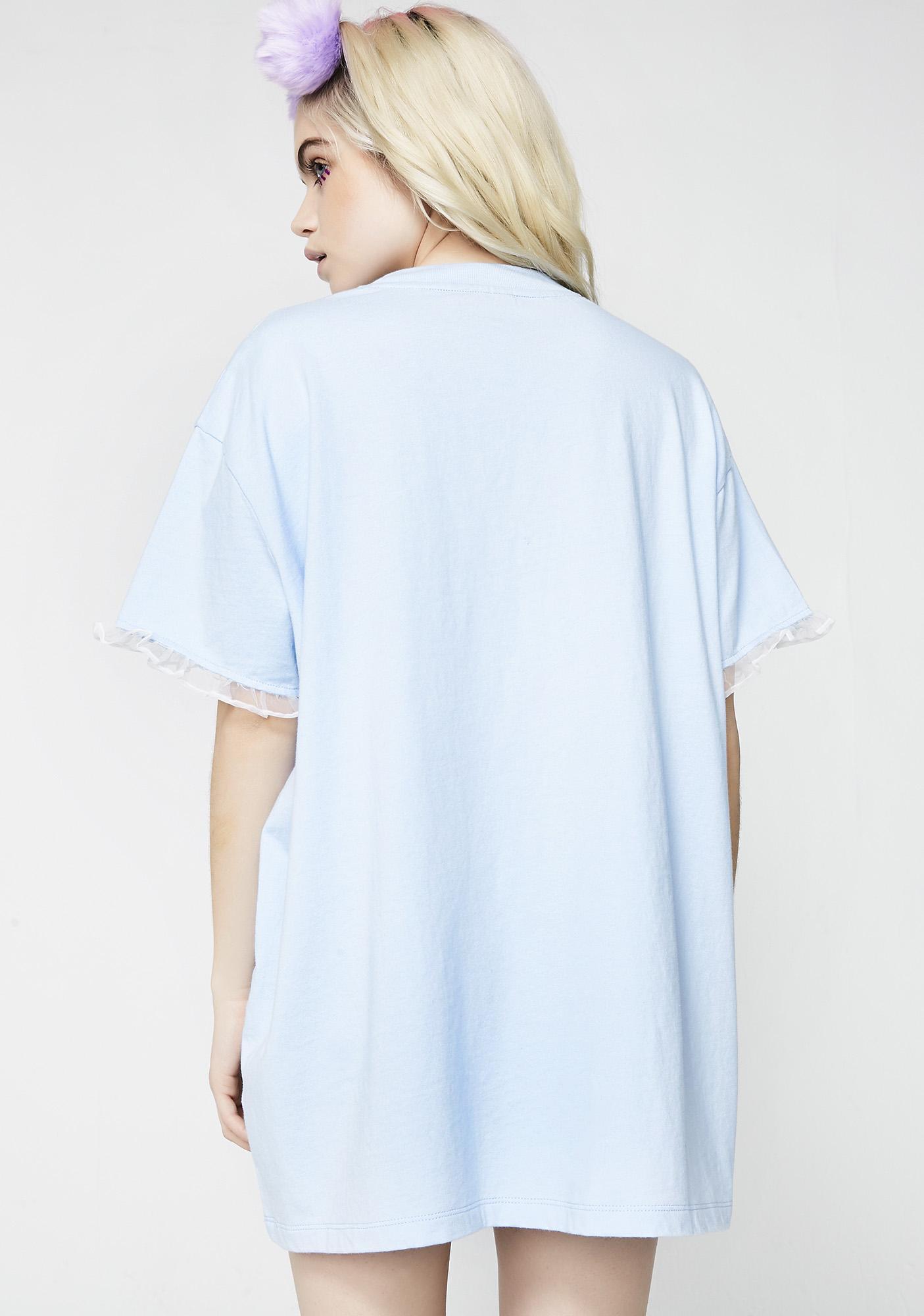 Lazy Oaf Fluffy Cloud T-Shirt