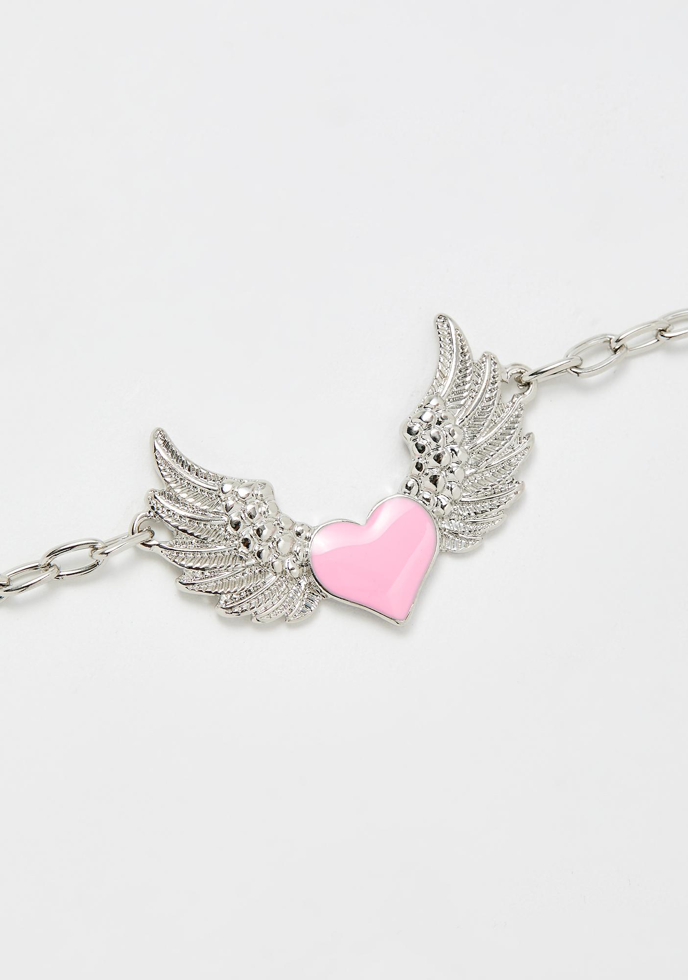 Wings Of An Angel Chain Necklace