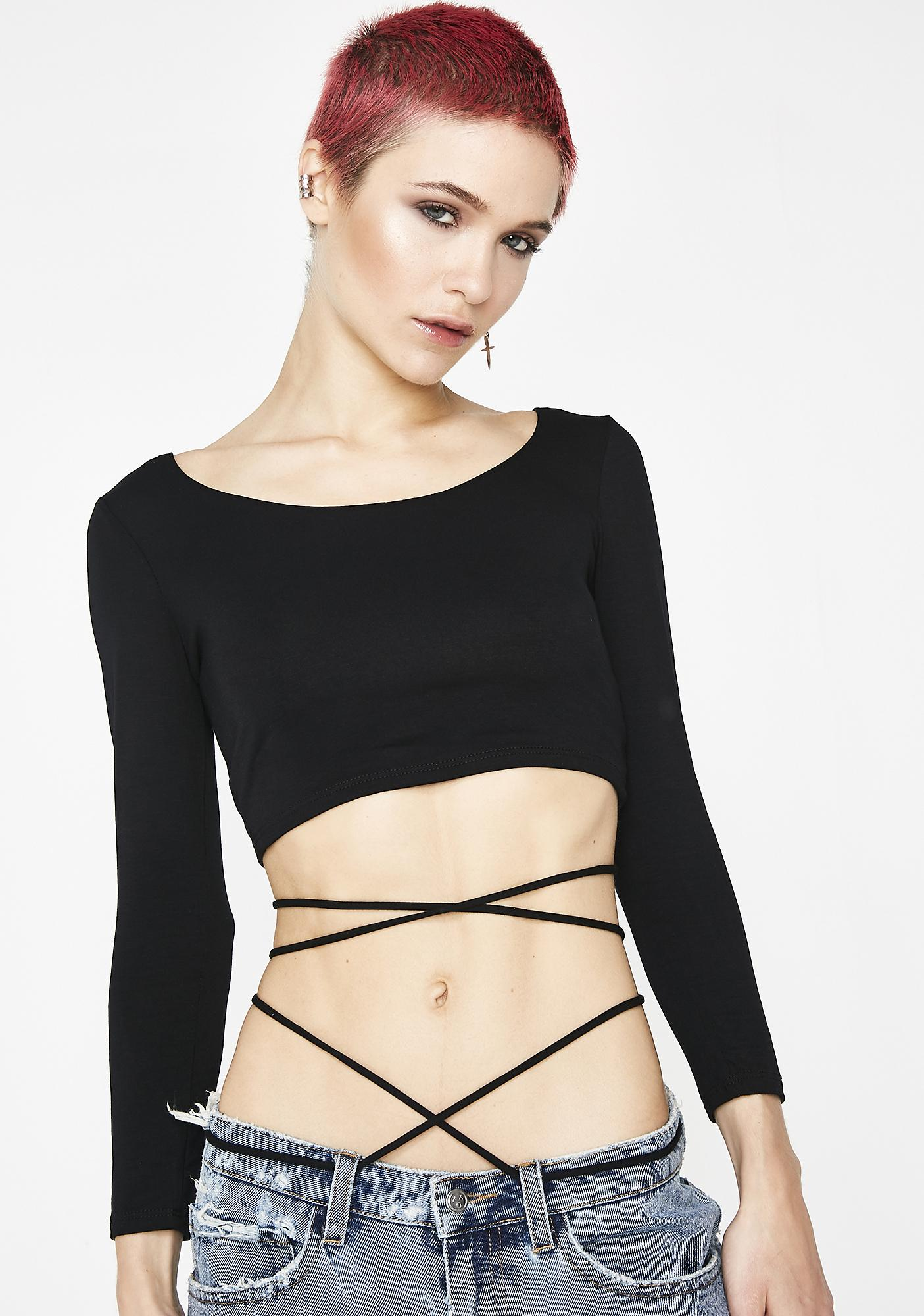 Issa Wrap Crop Top by Diosa