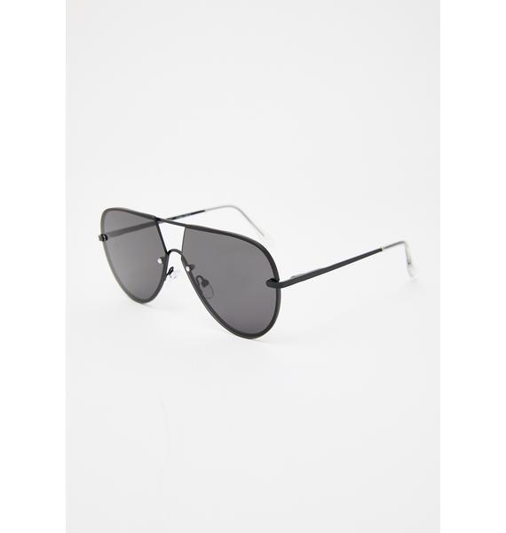 Message Me Aviator Sunglasses