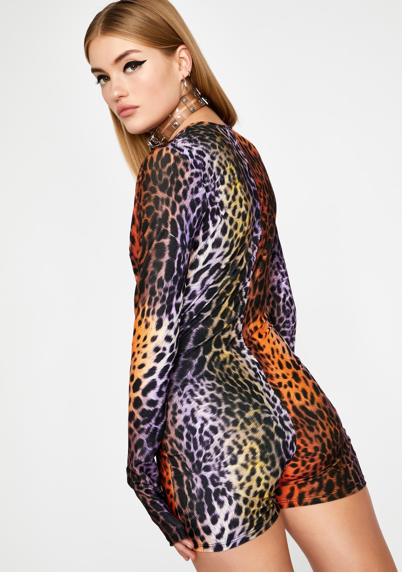 Wild Visions Leopard Romper